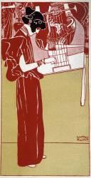 La musique (Klimt Gustav) - Muzeo.com