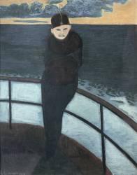 La traversée (Spilliaert Léon) - Muzeo.com