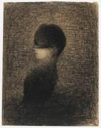 La Voilette (Georges Seurat) - Muzeo.com
