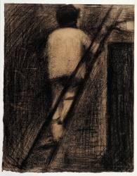 Le Badigeonneur (Georges Seurat) - Muzeo.com