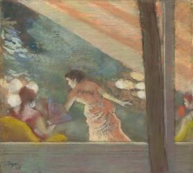 Le Café-Concert aux Ambassadeurs (Edgar Degas) - Muzeo.com