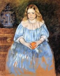 Margaret Milligan Sloan (Mary Cassatt) - Muzeo.com