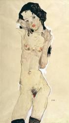 Nu (Schiele Egon) - Muzeo.com
