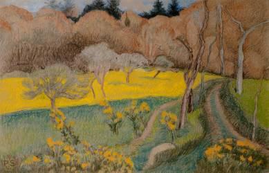 Paysage (Serusier Paul) - Muzeo.com