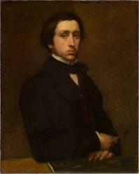 Portrait de l'artiste (Edgar Degas) - Muzeo.com