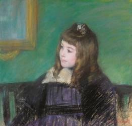 Portrait de Marie-Thérèse Gaillard (Mary Cassatt) - Muzeo.com