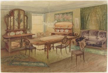 Projet de salle à manger (Emile Gallé) - Muzeo.com
