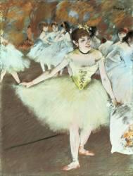 Sur scène (Edgar Degas) - Muzeo.com