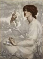 The Day Dream (Rossetti Dante Gabriel) - Muzeo.com