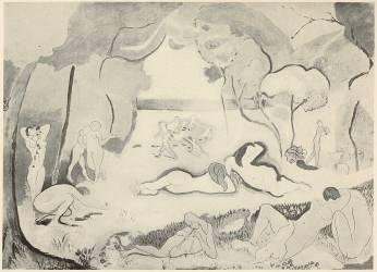 The Joy of Life (Henri Matisse) - Muzeo.com