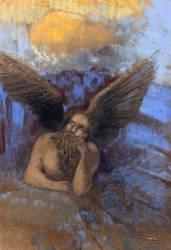 Vieil ange (Odilon Redon) - Muzeo.com