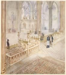 Viollet-Le-Duc par lui-même à l'abbaye de Saint-Denis (Eugène Viollet-Le-Duc) - Muzeo.com