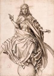 Le Christ du Jugement dernier (Martin Schongaeur) - Muzeo.com