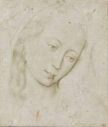 Tête de vierge (Rogier van der Weyden) - Muzeo.com