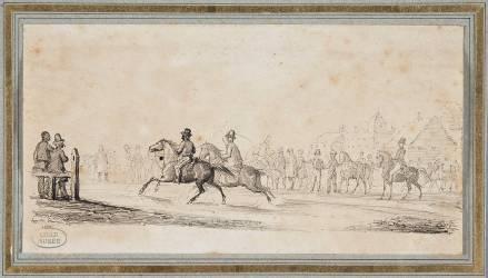 Champ de course (Flandrin Hippolyte) - Muzeo.com