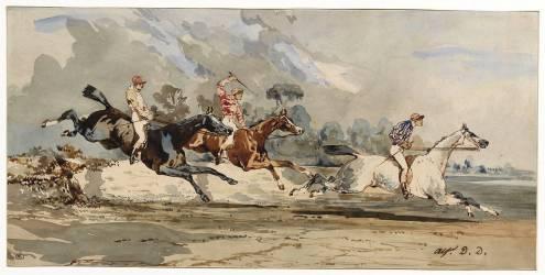 Course de chevaux (Dedreux Alfred) - Muzeo.com