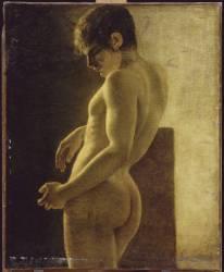 Etude de nu (Anonyme) - Muzeo.com