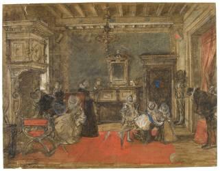Henri IV et ses enfants (Galland Pierre-Victor) - Muzeo.com