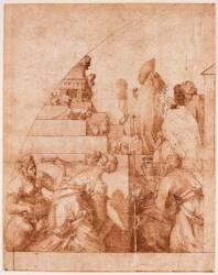 Le trône de Salomon (Rosso Fiorentino) - Muzeo.com