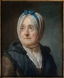 Portrait de Françoise-Marguerite Pouget (1707-1791), madame Chardin (Jean-Baptiste-Siméon Chardin) - Muzeo.com