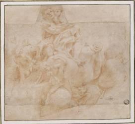 Saint Jean-Baptiste (Corrège le (dit), Allegri...) - Muzeo.com