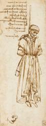 Etude d'un pendu (Léonard de Vinci) - Muzeo.com