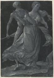 Une femme et la mort (Baldung Grien (dit), Baldung...) - Muzeo.com