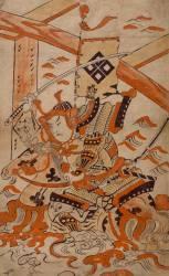 Guerrier à cheval (Kiyonobu I Torii) - Muzeo.com