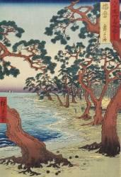 Harima - Plage de Maiko (Hiroshige) - Muzeo.com