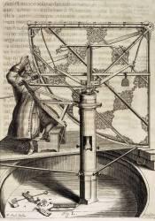 Machina celestis de Helvétius l'astronome (Andreas Stech) - Muzeo.com