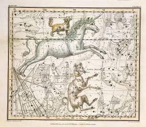 Monoceros - Atlas Céleste (Alexander Jamieson) - Muzeo.com