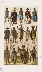 Afrique. Costumes et Armes (Anonyme) - Muzeo.com