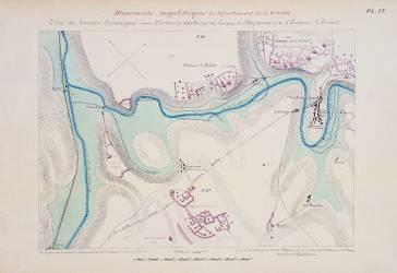 Atlas des monuments mégalithiques du département de la Vienne (Le Touzé de Longemard...) - Muzeo.com