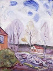 Fruhjahr Asgarstrand (Edvard Munch) - Muzeo.com