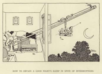 How to obtain a good night's sleep in spite of interruptions (Robinson William Heath) - Muzeo.com