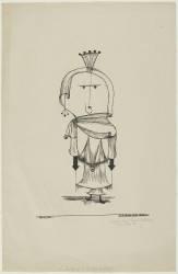 La sorcière au peigne (Paul Klee) - Muzeo.com