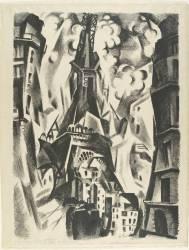 La Tour Eiffel (Delaunay Robert) - Muzeo.com
