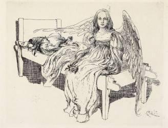 L'ange de la protection (Carl Larsson) - Muzeo.com