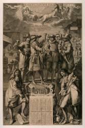 Les effets du soleil, almanach édité chez la veuve Moncornet 1680 (Anonyme) - Muzeo.com