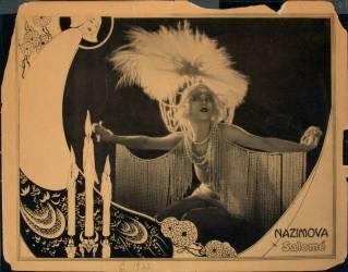 Nazimova in Salomé (Beardsley Aubrey) - Muzeo.com