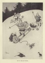 Off to the ski picnic (Robinson William Heath) - Muzeo.com