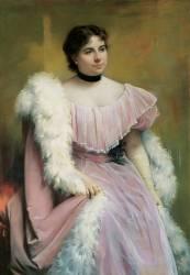 Portrait d'une Dame (Giuseppe de Nittis) - Muzeo.com