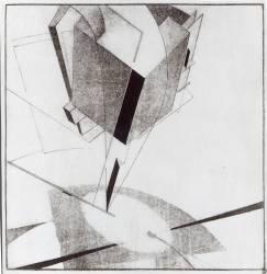 Proun 5 A (Eliezer Lissitzky) - Muzeo.com