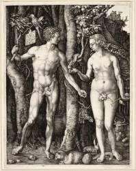 Adam et Eve, 4ème état (Albrecht Dürer) - Muzeo.com