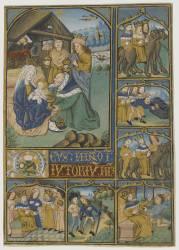Adoration des mages (Anonyme) - Muzeo.com