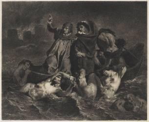 Dante et Virgile aux enfers (Nanteuil Célestin-François...) - Muzeo.com