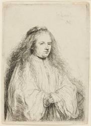 La petite mariée juive (Rembrandt) - Muzeo.com