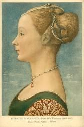 Portrait d'une Femme Inconnue (Piero della Francesca) - Muzeo.com