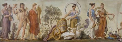 Frise décorative : Salle des frises (Anonyme) - Muzeo.com