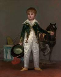 José Costa y Bonells, dit Pepito (Francisco de Goya) - Muzeo.com
